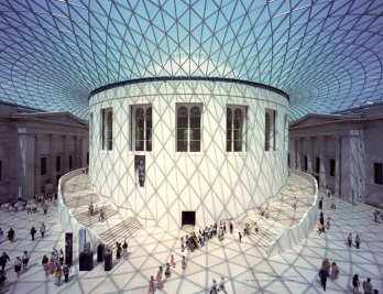 Great Court at the British Museum, London, UK, 1994-2000_Nigel Young - Foster+Partners