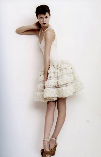 Azzedine Alaia_Spring 2009_Willy Vanderperre